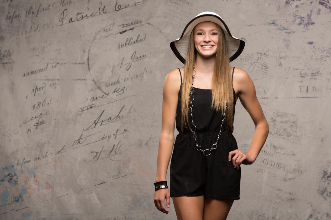 Fashion senior photos in spokane