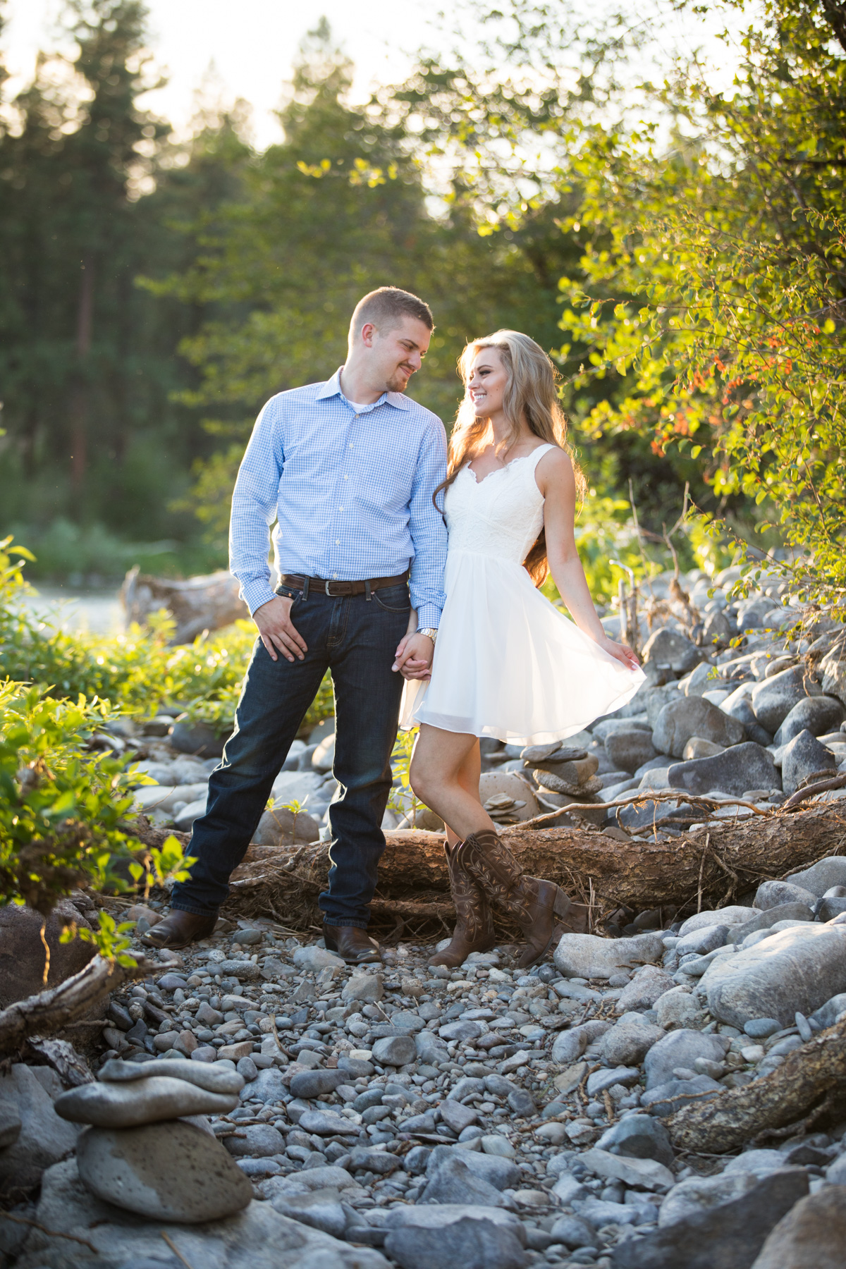 Engagement Photographe Spokane