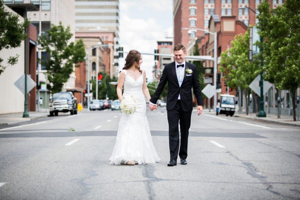 Spokane WA wedding photography