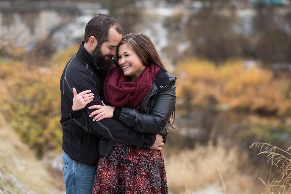 engagement photos Spokane wa