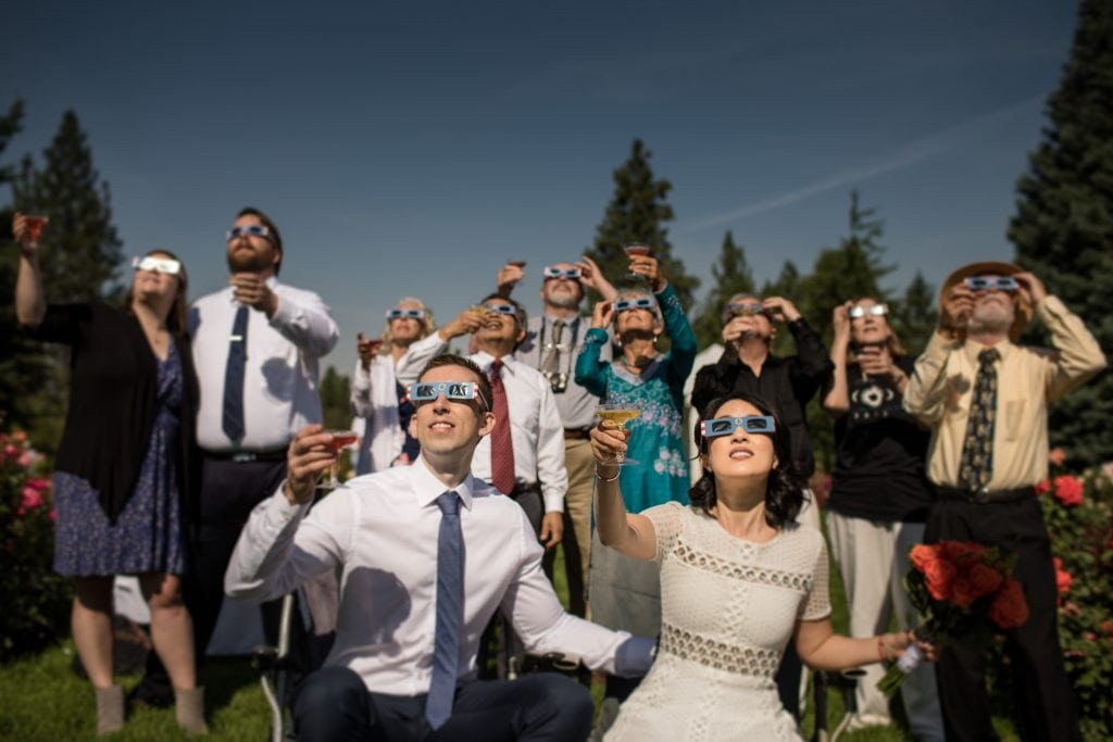 Eclipse Wedding