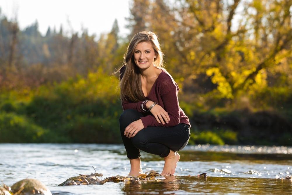 Fun senior photos