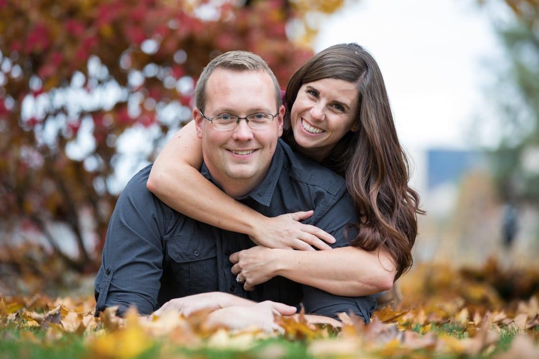 Engagement session in spokane WA