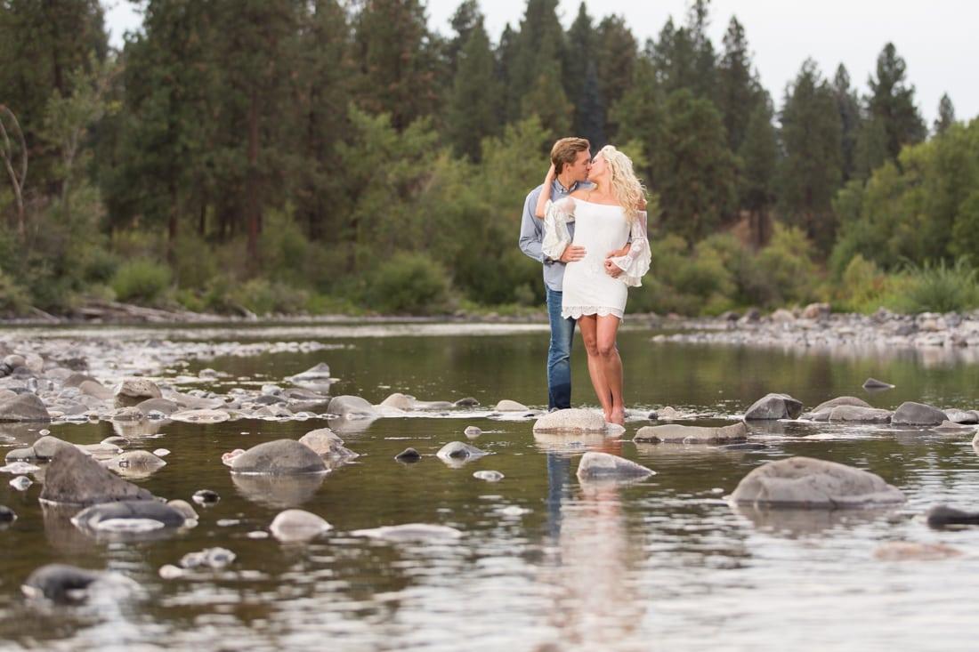Engagement Photo Spokane Franklin Photography