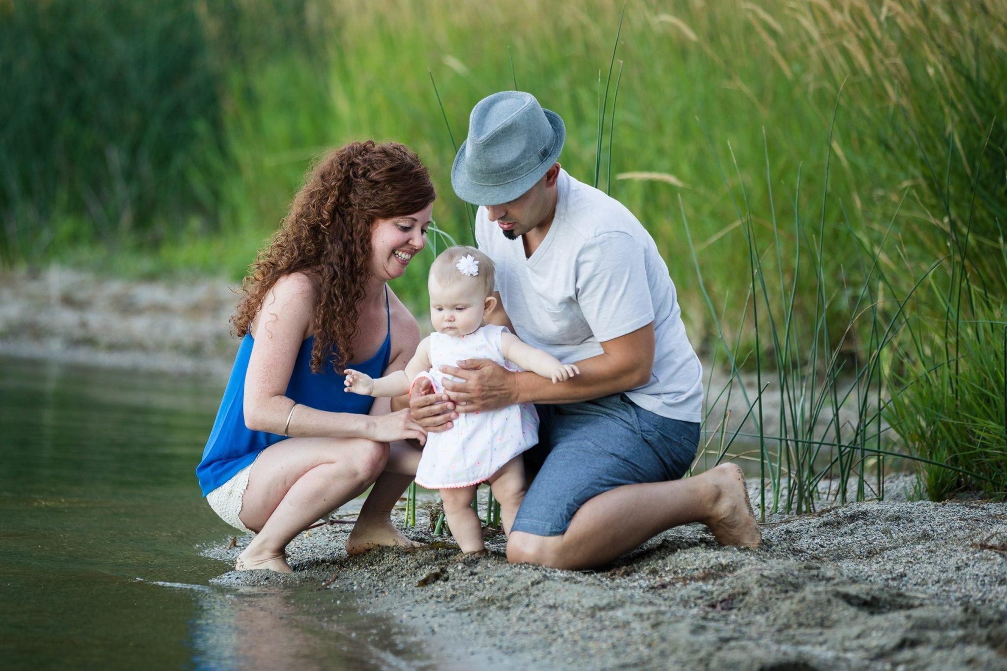 family photo session in Spokane