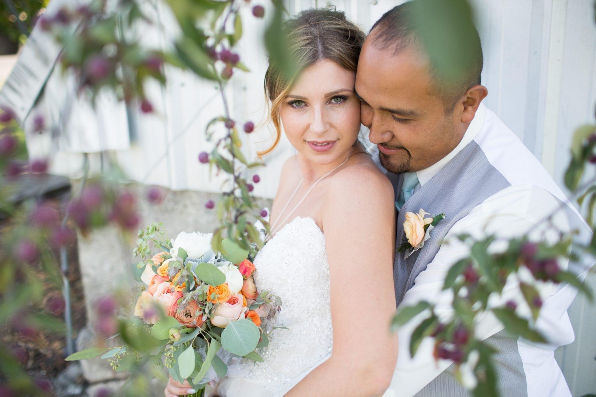 County wedding photo