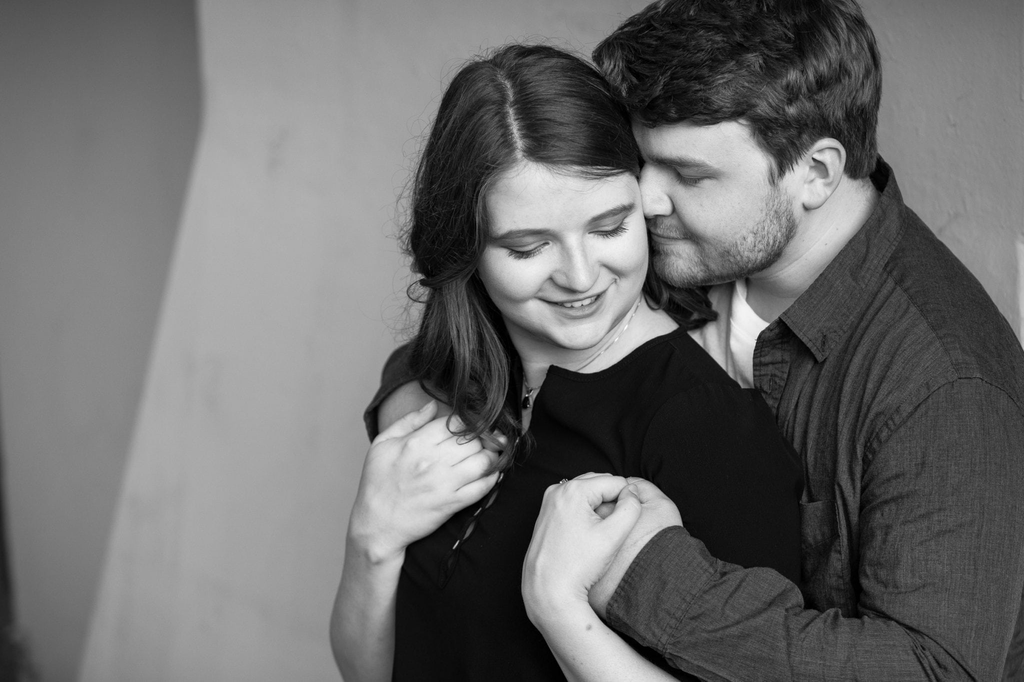 Romantic Engagement photography Spokane