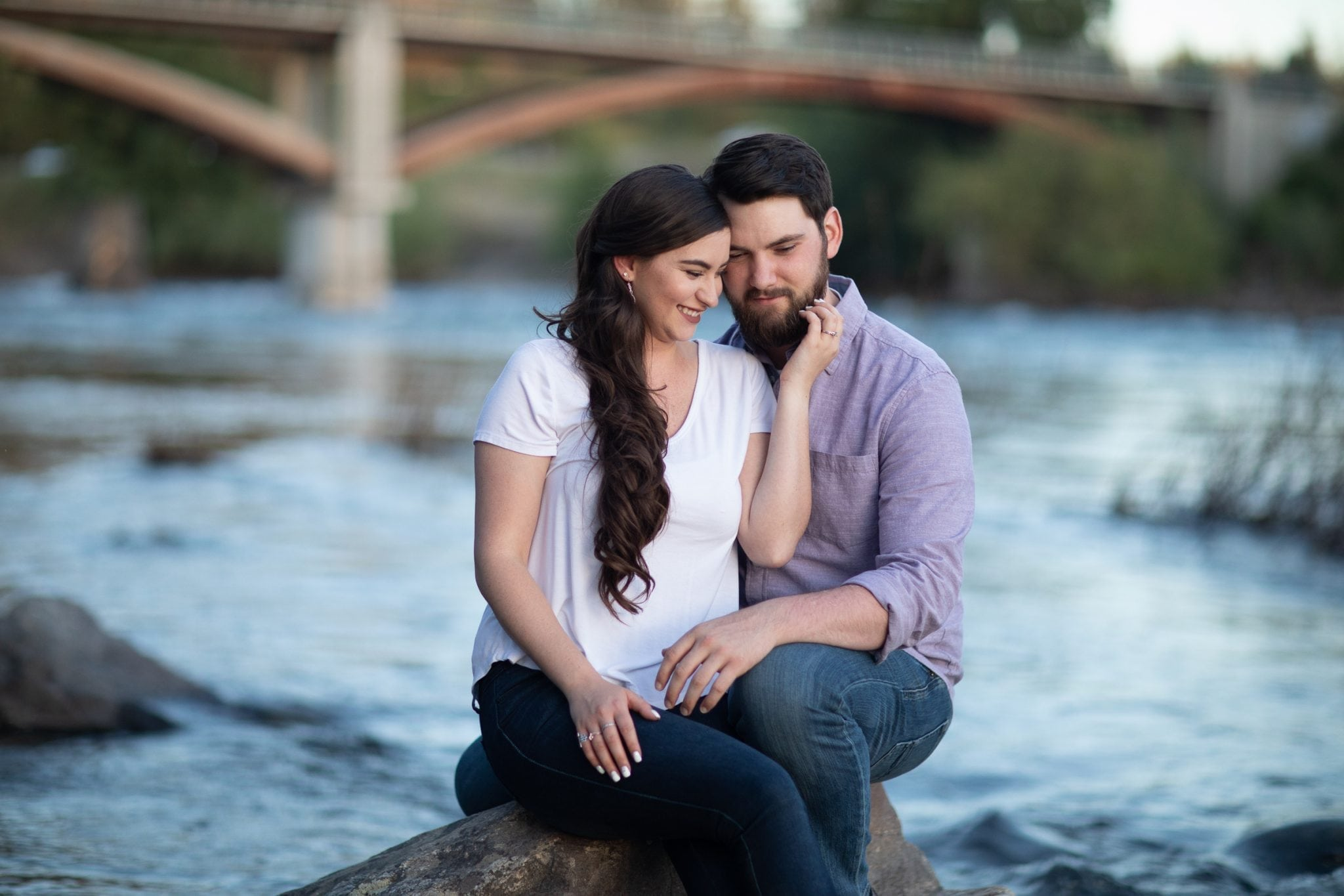 Engagement photos shoot spokane