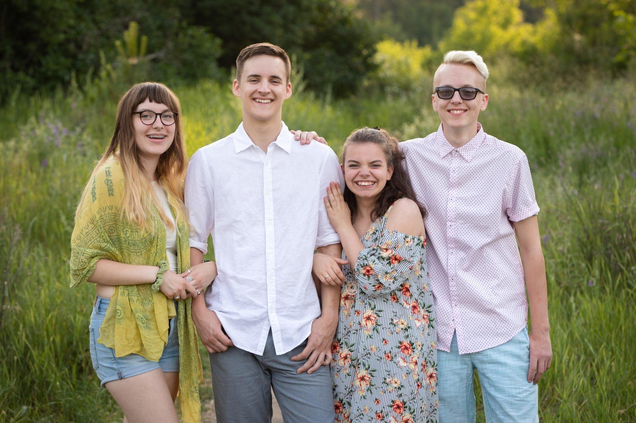 Family photos Spokane WA Franklin Photography