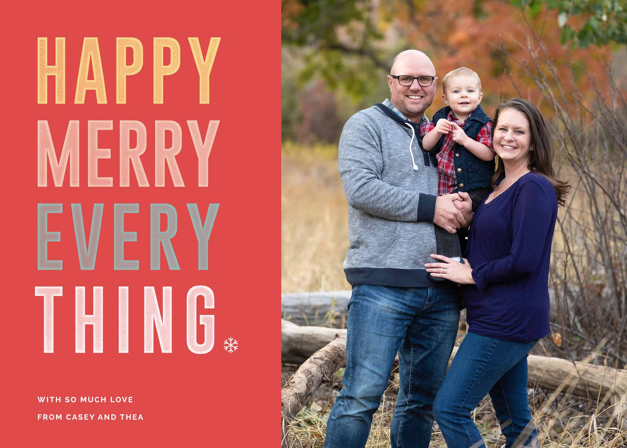 photography for holiday cards